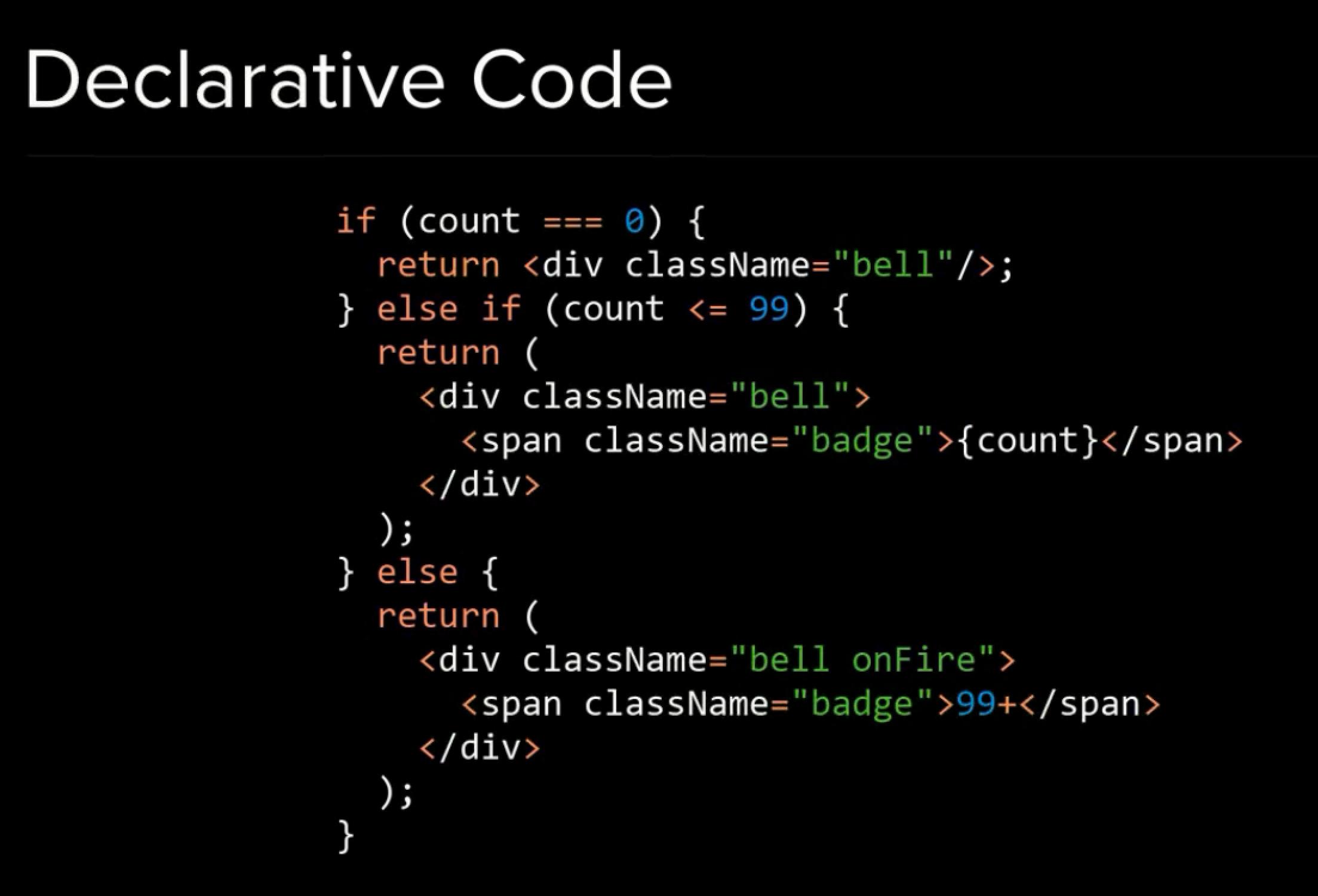Declarative Code
